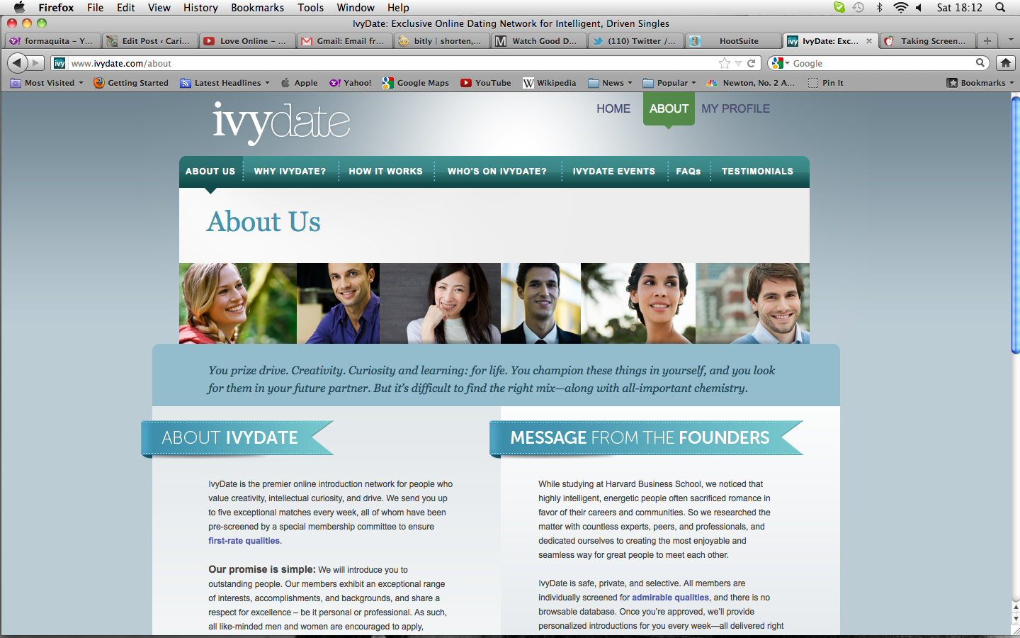Ivy League online dating