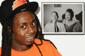 Lil Wayne (insert Emmett Till and his mother). Photo Compliments Google Images).