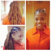 Fall 2009: My hairdo for the Congressional Black Caucus Convention in Washington, D.C.